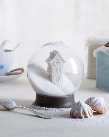 Zuccheriera originale palla di vetro